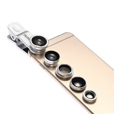 5in1 (Fisheye Grandangolo Macro Teleconverter CPL Obiettivo Lente) per iPhone 6+