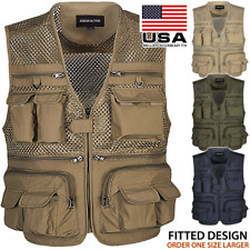 Fishing Vest Summer Outdoor Mesh 16 Pockets Travel Hunting Photography Jacket