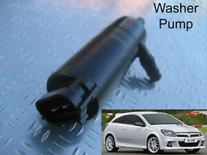 Headlamp/headlight Washer Pump Vauxhall Astra 2005 to 2010 VXR Xenons fitted