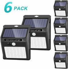 Solar Lights Outdoo Solar Motion Sensor Light Garden (6 Pack)
