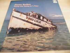 JIMMY BUFFETT LIVING AND DYING IN 3/4 TIME  GATEFOLD  EX VINYL LP