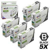 LD Reman Replacement T069120 for Epson T069 69 Set of 5 Black Inkjet Cartridges