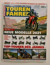 Motorrad Reisen  TOUREN FAHRER  Januar 2021 Neue Modelle 2021