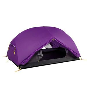 Naturehike 3 Season Mongar Camping Tent 20D Nylon Fabic Double Layer Waterproof