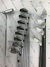 TaylorMade RBZ Stage 2 Irons Driver Fairways Rescue Putter Mens FULL SET RH Reg