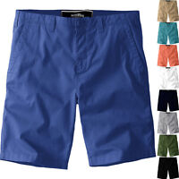 New Mens Chino Shorts Cotton Summer Casual Jeans Cargo Combat Half Pants Casual