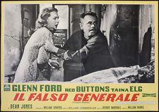 CINEMA-fotobusta IL FALSO GENERALE g. ford, t. elg