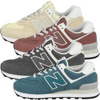 New Balance 574 Damen-Sneaker Textil Canvas Turnschuhe Sport-Schuhe Stoffschuhe