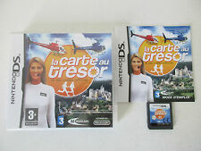 LA CARTE AU TRESOR LE JEU VIDEO OFFICIEL - NINTENDO DS - JEU DS LITE DSI COMPLET