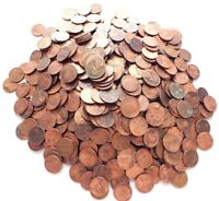 LOT 100 UNITED STATES OF AMERICA ONE CENT USA LINCOLN PENNY COINS 1951 - PRESENT