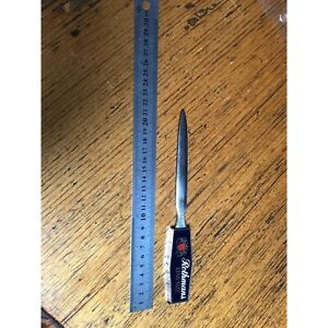Rothmans cigarette letter opener with small tape measure i