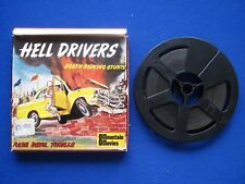 Mountain Super 8mm  film -  ' Hell Drivers '   B/W Silent  200ft
