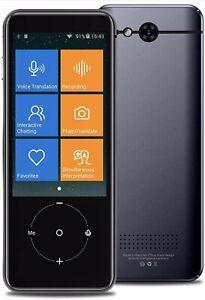 Portable Voice Translator Device 107 Languages Wifi/Hotspot/Offline Touch Screen