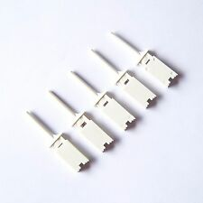 50 PCS White Test Clip Mini Grabber SMD IC Hook Probe Jumper Logic Analyzer P49