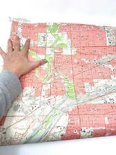 Antique Berwyn, Illinois 1963 US Geological Survey Topographic Map USGS
