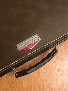 *UNIQUE* Vintage AAA Savoy Strata Case Catalog Sales Briefcase Travel Suitcase