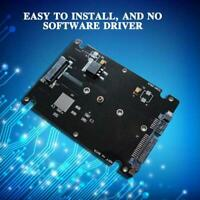 """M.2 NGFF SSD to 2.5""""SATA III Enclosure 7mm Drive Adapters 2280 2260 2242 E6Y4"""