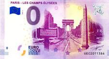 75008 Les Champs-Elysées 2, 2018, Billet 0 € Souvenir