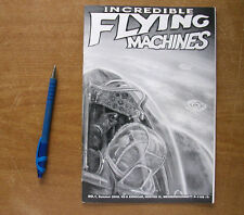 "Booklet ""INCREDIBLE FLYING MACHINES"", Issue #1"