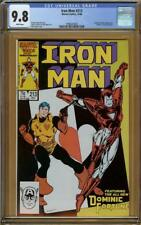 Iron Man #213 CGC 9.8 Dominic Fortune   #1996207004