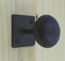 Set of 6 Cast Iron Cabinet Knobs Antique Style Rustic Round Knobs Drawer Pulls