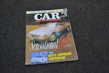 june 1990 vq hsv sv90 statesman caprice 5000i vn sprin Car australia magazine 48