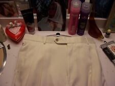 """men's summer pants by Ballin 34 x 31 """"Relax"""" line from Canada creamy white $189"""