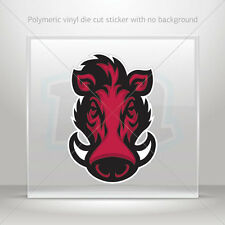 Pig Leaping Wild Happy Piggy Vinyl Decal Your Color Choice Sticker