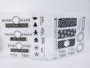 Papertrey Holiday Treats Stamp Set: Fresh Baked, Gingerbread, Treats, Cookie Tag