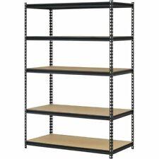 Garage Heavy Duty Shelf Steel Metal Storage 5 Level Adjustable Shelves Unit NEW