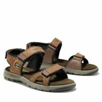 TIMBERLAND MEN'S GOVERNOR ISLAND STRAP BLACK SPORT TB 0A1QZ4 SANDALS ALL SZ
