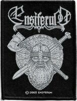 Official Licensed Merch Woven Sew-on PATCH Metal Rock ENSIFERUM Sword & Axe