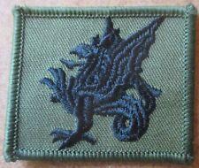43rd Wessex brigada trf parche verde oliva