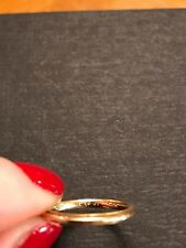 14K Yellow Gold CRAFT wedding band ring