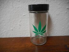 CANNIBUS  Glass  Jar Pot Weed MARIJUANA  3- 1/2""