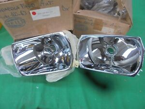 Audi 100 C2 Pair Of Parables For Lights Front Hella Original