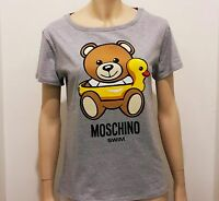 Moschino T-shirt swim Donna Orsetto papera colore Grigio