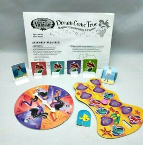 Disney's The Little Mermaid Magical Transforming 3D Game Replacement Parts Piece