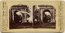 Arc Romain Susa Suse Italie Italia Photographie Stereo Albumine