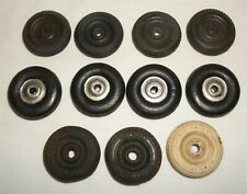 Replacement Rubber Tire Wheel Lot for Cast Iron Toy Car Truck Arcade Hubley