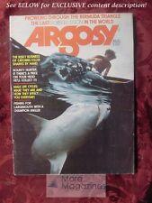 ARGOSY August 1975 SHARK FISHING ISLA MUJERES ALASKA ++