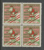 USA Cinderella State TB Charity stamp 7-11-20 - mnh gum