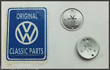 VW MK2 Golf - Genuine OEM - Exhaust Heat Shield Spring Nut - 2 Pack - Brand New!