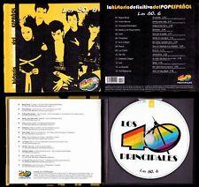 POP ESPAÑOL 80.6- SPAIN LIBRO CD - ALASKA/LEÑO/LUZ/BOSE