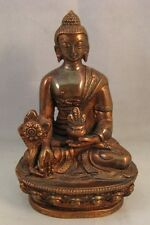 Vintage Thai copper bronze Buddha figure figurine