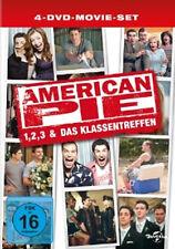 4 DVDs * AMERICAN PIE 1+2+3 & DAS KLASSENTREFFEN (LIMITED EDITION) # NEU OVP +
