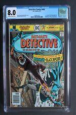 DETECTIVE COMICS #463 1st BLACK SPIDER Suicide Squad SSSV 1976 ATOM CGC VF 8.0