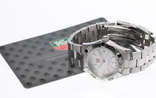 Good Condition! TAG HEUER Aquaracer WAF1412.BA0812 Quartz Ladies Watch_428587