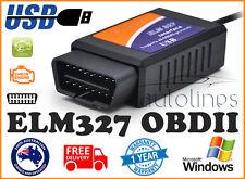 OBD2 OBDII ELM327 V1.5 USB Diagnostic Scanner PC Engine Scan Tool Code Reader