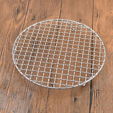Round Stainless Steel Barbecue Wire Mesh With Rack Portable Durable DIY BBQ Tool